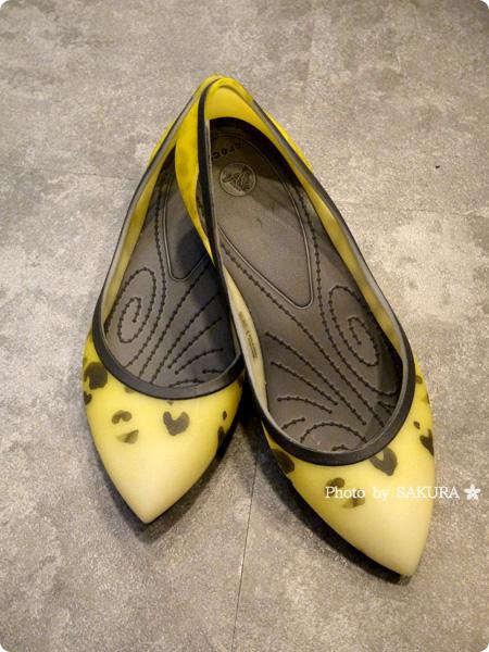 [WEB限定]crocs rio leopard fade flat w クロックス リオ レオパード フェイド フラット ウィメン burst / graphite 全体