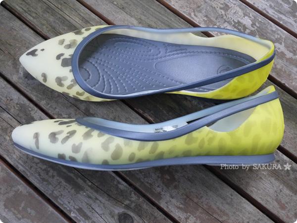 crocs rio leopard fade flat w(クロックス リオ レオパード フェイド フラット ウィメン) レオパードがフェードアウトするグラデーション模様