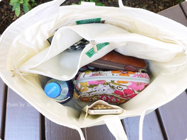 Bosco Import(ボスコインポート)限定 Caterina Bertini(カテリーナ・ベルティーニ)のバイカラーかごバッグ たくさん荷物が入る大容量