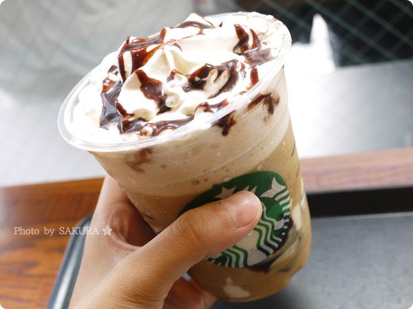 スターバックスコーヒー新作「コーヒー ジェリー & クリーミー バニラ フラペチーノ」冷たくておいしいけど、キャラメルソースのがあいそう