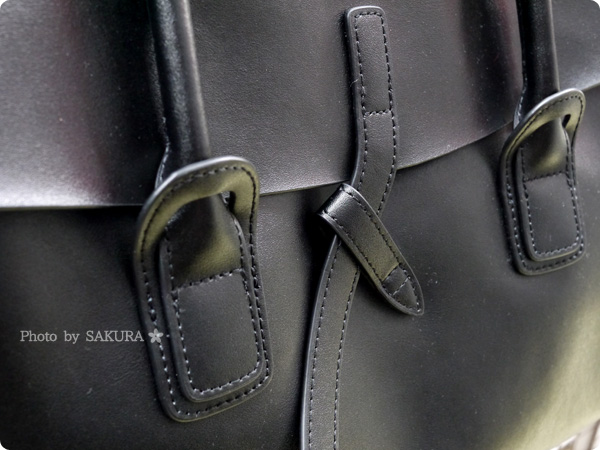 楽天市場レディースバッグ専門店ナルシ Della Stella(デラステラ)DLH47本革トートバッグ 縫い目アップ