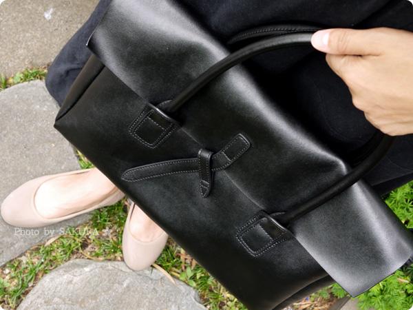 楽天市場レディースバッグ専門店ナルシ Della Stella(デラステラ)DLH47本革トートバッグ 使ってみた着画その2