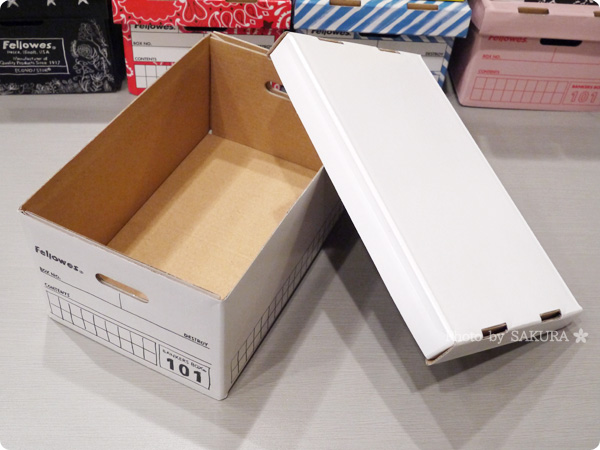 [ロフトネットストア]名刺ボックス・ポストカード収納にバンカーズボックスシリーズ 101ボックス ハンドライティング 1個