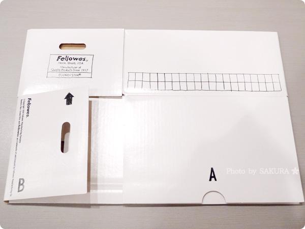 [ロフトネットストア]バンカーズボックスシリーズ 101ボックス ハンドライティング 使わなけば畳んでしまっておくことも可能