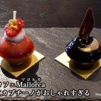 二子玉川カフェMallorca(マヨルカ)プチケーキにカプチーノがおしゃれすぎる