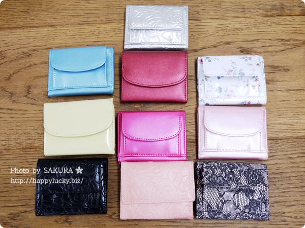 パーティードレス通販GIRL 選べる40色のガールミニ財布(三つ折り財布) 人気の三つ折り財布