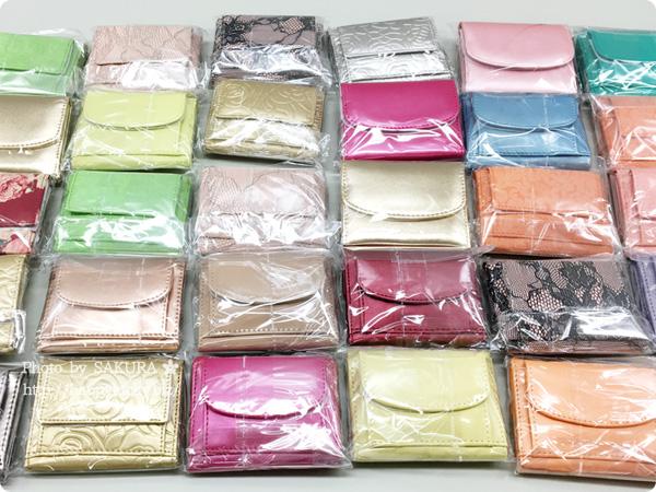 パーティードレス通販GIRL 選べる40色のガールミニ財布(三つ折り財布) パターン その3