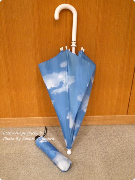 MoMAの定番、スカイアンブレラは折り畳みと長い傘の2種類が登場
