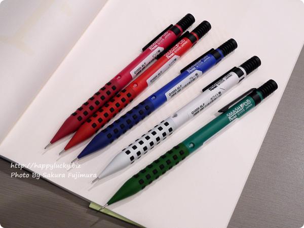 ぺんてるの人気シャープペン スマッシュ ロフト限定カラー5色