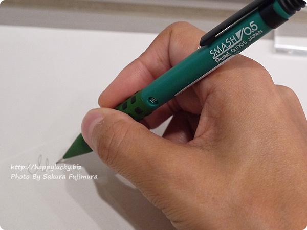 ぺんてるの人気シャープペン スマッシュ ロフト限定カラーを試し書き