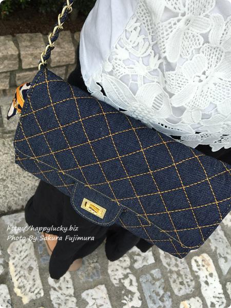 楽天市場DEVILISH TOKYO キルティングウォレットチェーンバッグ 使ってみた その1