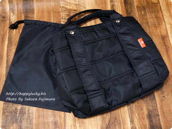 楽天市場ルルクチュール 大容量ナイロンマザーズバッグ 収納袋付き