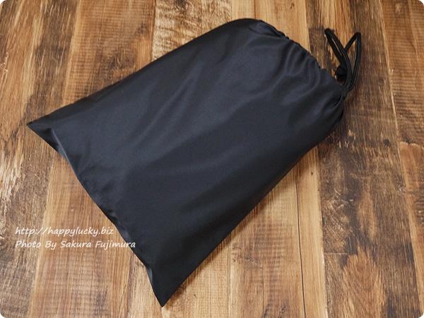 楽天市場ルルクチュール 大容量ナイロンマザーズバッグ 収納袋に入れたところ