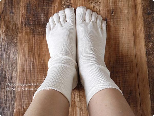 温むすび 冷えとり入門お試し2足セット 履いてみた その1