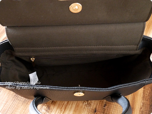 楽天市場Wselect 調度いい大きさの大人レディーバッグ 内側にファスナーポケットあり