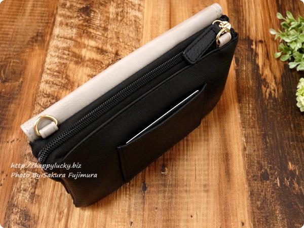 楽天市場のショップ・Wselect(ダブルセレクト) フリンジ付お財布ポシェット 外ポケットにICカード