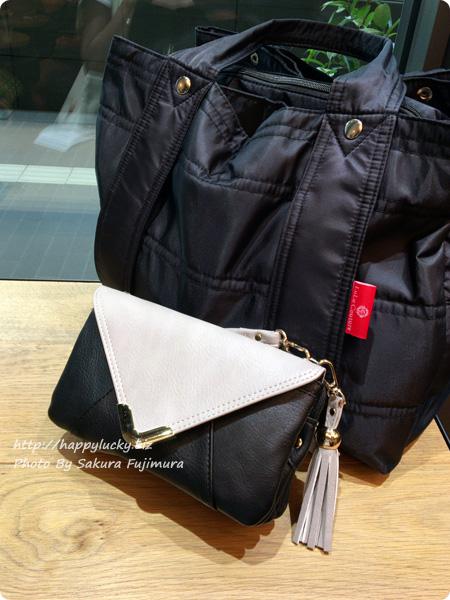 楽天市場のショップ・Wselect(ダブルセレクト) フリンジ付お財布ポシェット 大きなマザーズバッグと一緒に使う