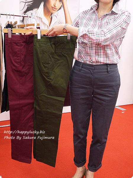 ランズエンド 美型シルエット体型別パンツやシャツ カラーバリエーション