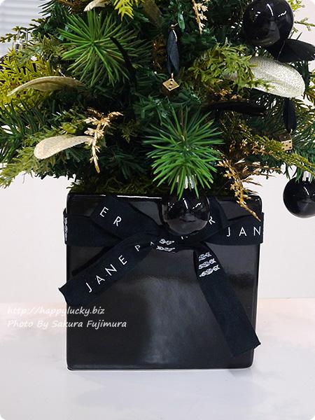 ジェーンパッカー×日比谷花壇コラボ クリスマス2016 JANE PACKER アーティフィシャルツリー「ダイスツリー」 リボンアップ