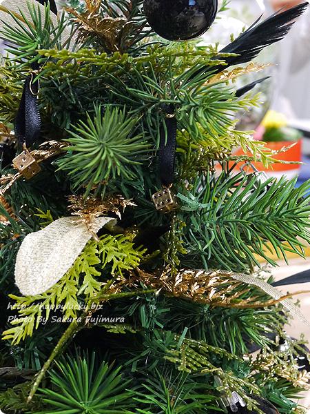 ジェーンパッカー×日比谷花壇コラボ クリスマス2016 JANE PACKER アーティフィシャルツリー「ダイスツリー」 遊びごころのあるサイコロデザイン