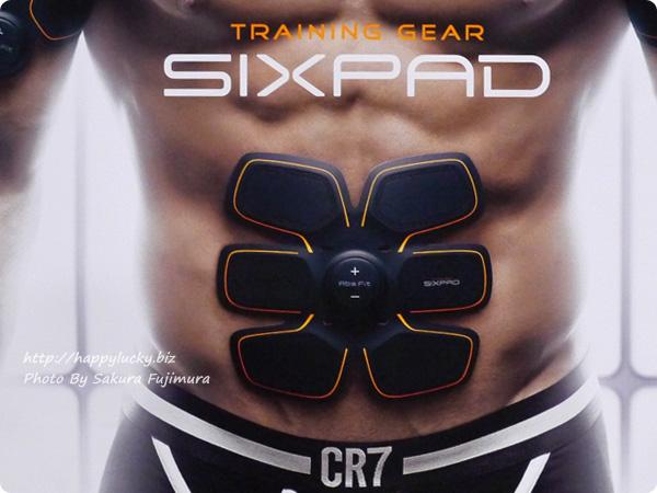 クリスティアーノ・ロナウド選手のCMや、 TV・各種メディアで話題SIXPAD(シックスパッド)  パネル