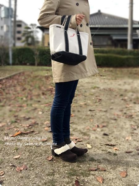 クロックス サラ ラックス ラインド クロッグ ウィメンで冷え取りファッション(着画) スキニーパンツ ブルーデニム 全体