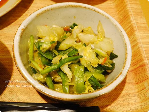 丸の内タニタ食堂 週替わりメニュー「チキンシチュー定食」 白菜と桜エビの煮びたし