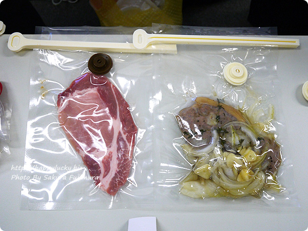 CLICCA(クリッカ)・調理もできる真空パック&真空調理キット お肉とお魚を調理