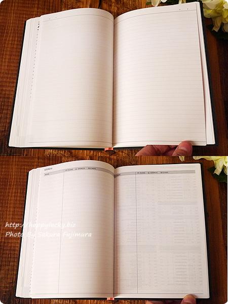 2017手帳・スケジュール帳 EDiT(エディット)1日1ページ 2017年1月始まり B6変型(ETA)/スープル 罫線ノートとアドレスページ