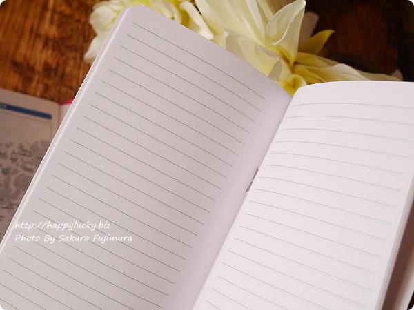 ロフト限定2017年手帳QuoVadis(クオバディス)パピエティグル ビソプランマンスリータイプ ドット罫線のノート