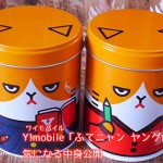 Y!mobile(ワイモバイル)「ふてニャン ヤング缶」もらった!気になる中身公開
