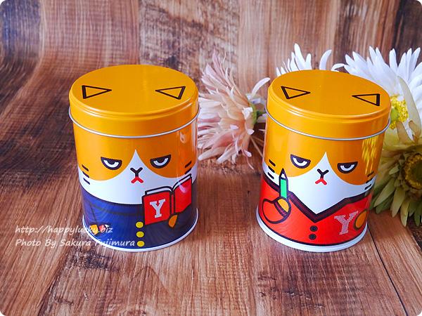 Y!mobile(ワイモバイル)「ふてニャン ヤング缶」全2種類