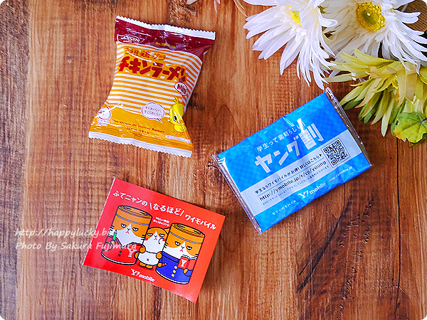 Y!mobile(ワイモバイル)「ふてニャン ヤング缶」中身はチキンラーメン