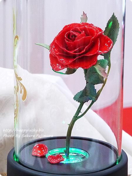 日比谷花壇 ディズニー マージュフラワー「マジカルローズ」(ディズニー映画 『美女と野獣』より 緑の光