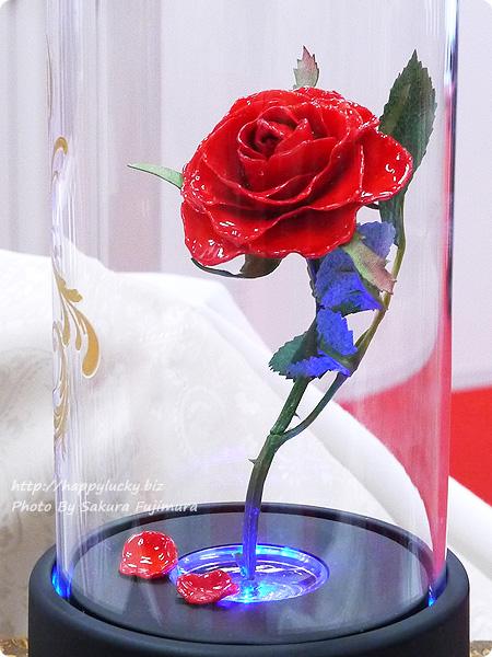 日比谷花壇 ディズニー マージュフラワー「マジカルローズ」(ディズニー映画 『美女と野獣』より 青の光