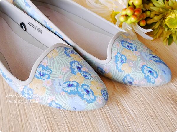 クロックス(crocs)Women's Crocs Eve Graphic Flat クロックス イヴ グラフィック フラット ウィメン 花柄ハイビスカスアップ