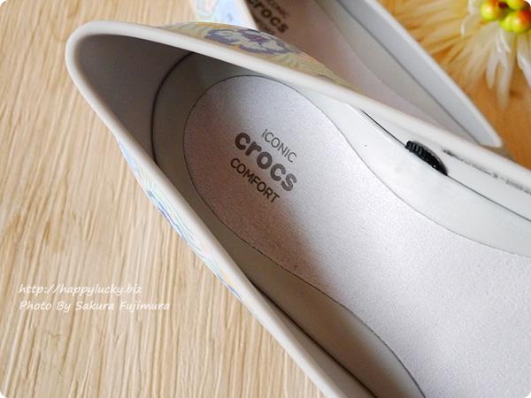 クロックス(crocs)Women's Crocs Eve Graphic Flat クロックス イヴ グラフィック フラット ウィメン Iconic Crocs Comfort