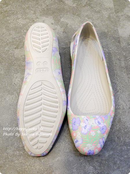 クロックス(crocs)Women's Crocs Sienna Graphic Flat( クロックス シエンナ グラフィック フラット ウィメン) アウトソール