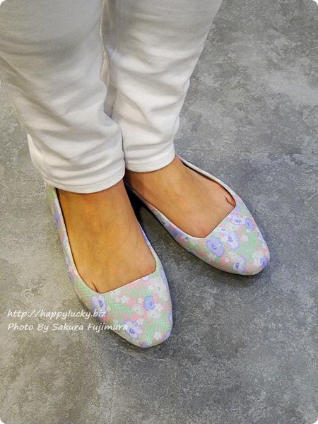 クロックス(crocs)Women's Crocs Sienna Graphic Flat( クロックス シエンナ グラフィック フラット ウィメン)着画その2