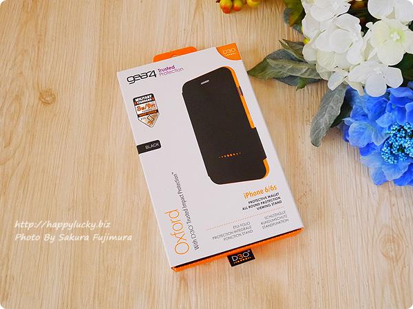 【GEAR4】iPhoneケース 耐衝撃 英国女王賞受賞のD3Oテクノロジー採用手帳型ケース 届いた 外箱