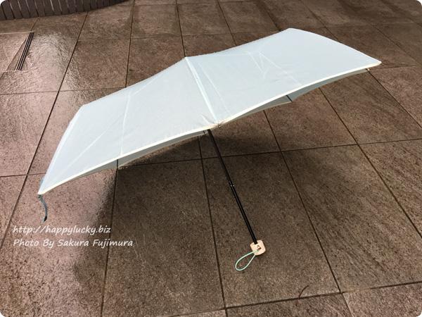 楽天市場ストール・傘専門店 macocca 耐風雨makez.(マケズ) 折り畳み傘 使ってみた