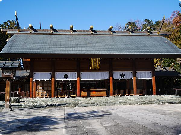 櫻木神社 拝殿 全体