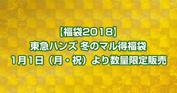 【福袋2018】東急ハンズ福袋 1月1日(月・祝)より数量限定販売
