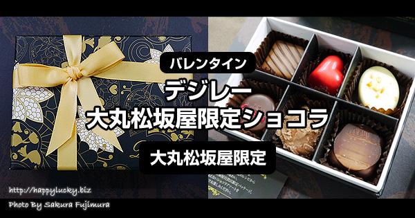 【バレンタイン2018】デジレー大丸松坂屋限定ショコラ<大丸松坂屋限定>