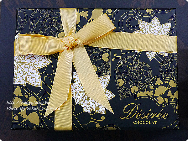 【バレンタイン2018】デジレー大丸松坂屋限定ショコラ<大丸松坂屋限定> 6個入りパッケージ