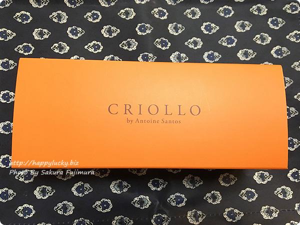 エコール・クリオロ(ECOLE CRIOLLO)「幻のチーズケーキ」パッケージ