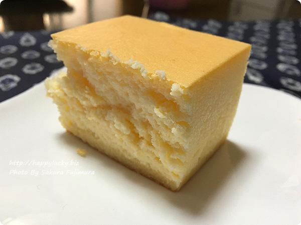 エコール・クリオロ「幻のチーズケーキ」断面