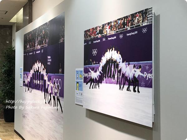 日本橋高島屋「羽生結弦展」 ARでみる4回転ジャンプのコマ送り連続画像