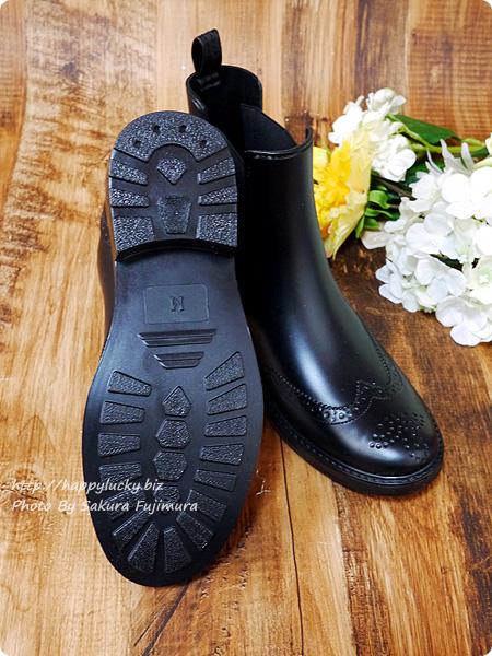 【楽天市場三京商会】ショート丈レインブーツサイドゴア 滑りにくい靴底