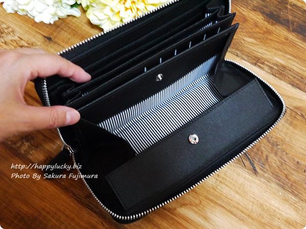 楽天市場スタイルオンバッグ(Style on Bag)】実用性にこだわった大容量 本革製ラウンドファスナー長財布 ワイドオープンな小銭入れ